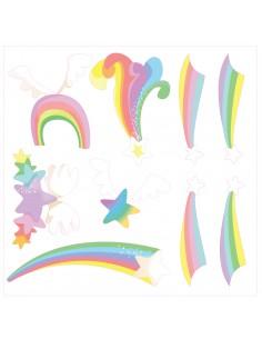 Stickers Féerie & Princesse,Stickers Frise: Etoiles filantes