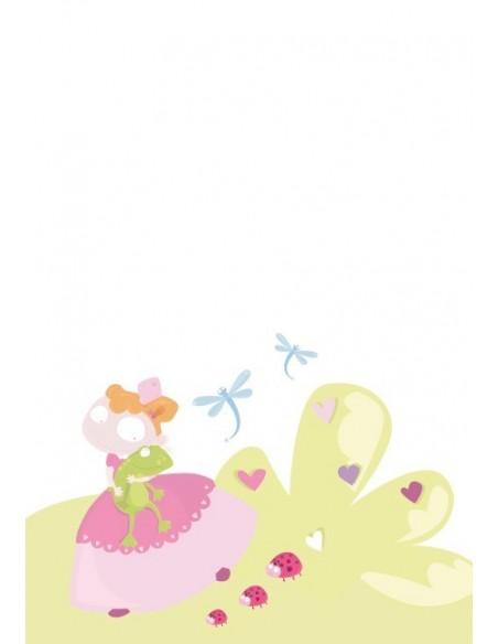Housse de Couette Bébé,Housse de Couette bébé: Princesse