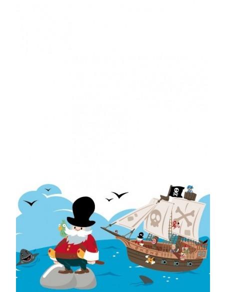 Housse de Couette Bébé,Housse de couette bébé: Pirate version