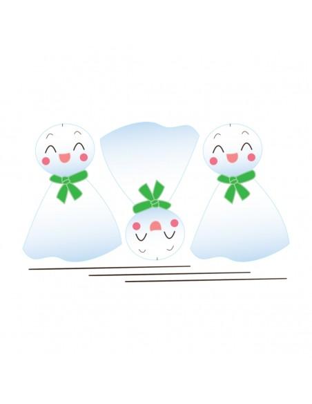 Stickers Monde,Sticker japon: teru teru bozu - decoloopio