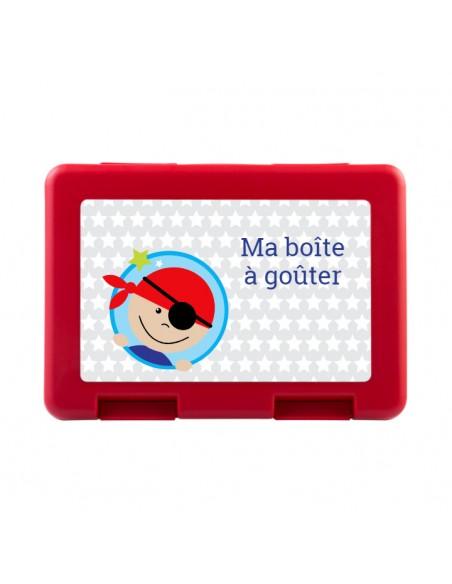 Boite a Gouter,Boîte à Goûter Pirate