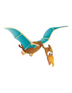 Stickers Dinosaures,Sticker enfant dinosaure: Piero le