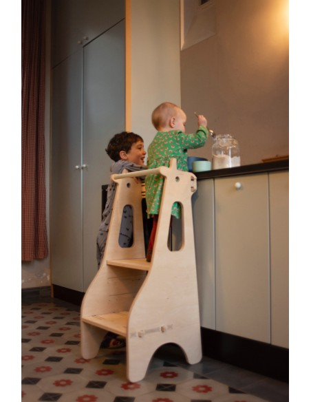 Tables- Chaises & Bureaux,Tour d'observation Montessori Girafe