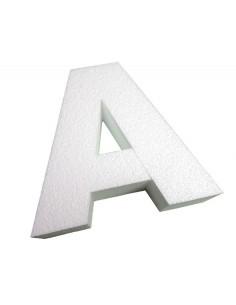 Lettre 3D en relief,Lettre en Relief Blanc Brut