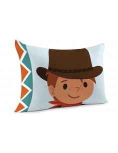 Taie d'oreiller,Taie d'oreiller Petit Cowboy