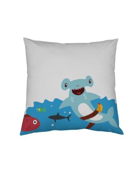 Taie d'oreiller,Taie d'oreiller Pirate Version Requin