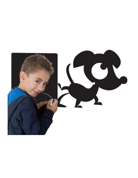 Sticker Ardoise,Sticker ardoise: Hector qui aboie