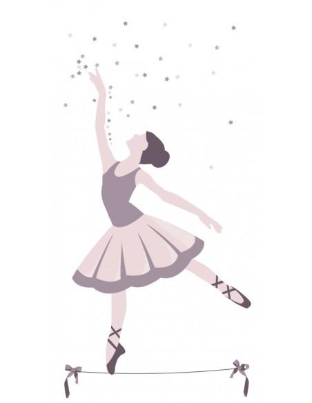 Rideaux chambre fille,Rideau Enfant: Danseuse Etoile