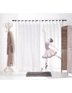 Voilage chambre fille,Voilage Enfant: Danseuse étoiles