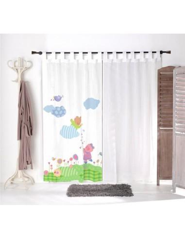 Voilage chambre bébé,Voilage Enfant: Doudou ours