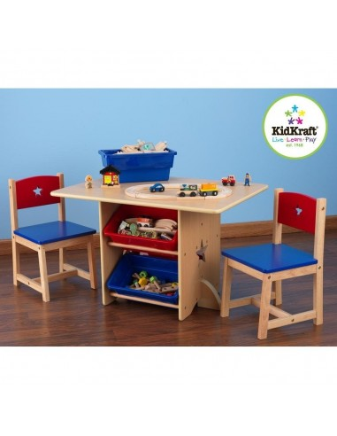 Tables- Chaises & Bureaux,Ensemble chaises et table Etoile