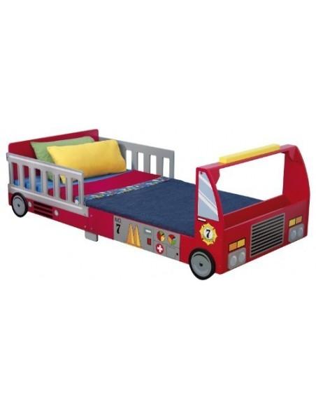 Lits Juniors,Lit camion de pompier pour enfant