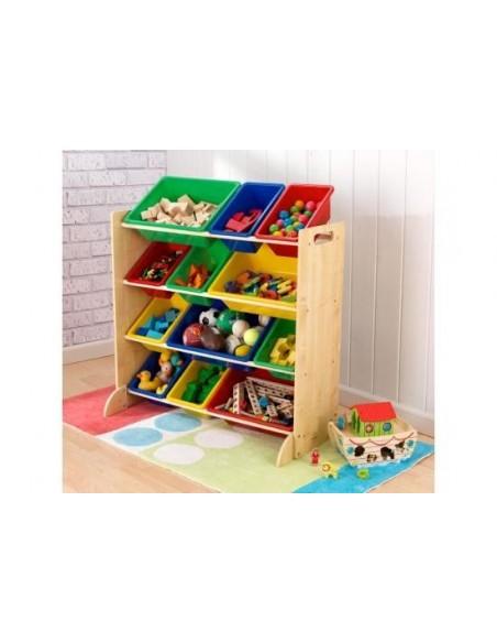 Bibliothèques & Casiers,Meuble avec Bacs de rangement colorés
