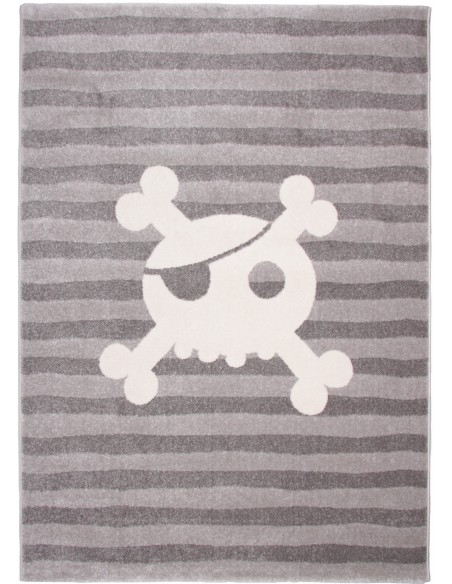 Tapis pirate,Tapis enfant: Pirate Skull