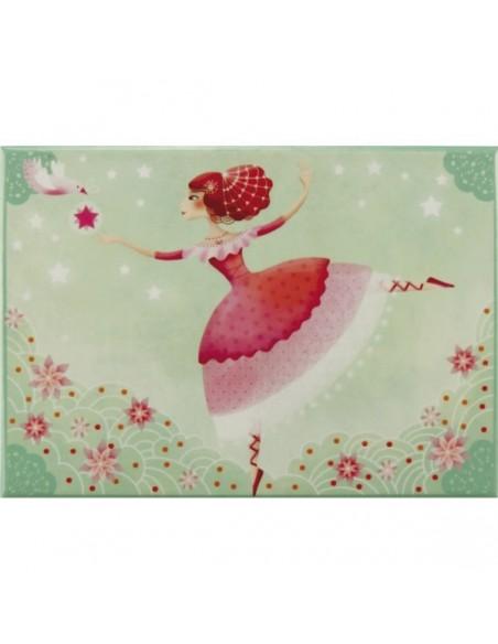 Boîte à Musique & Bijoux,Coffre musical Princesse sur pointe