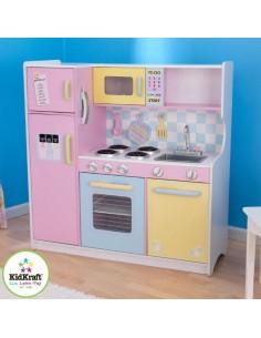 Cuisine & Dînette,Cuisine Enfant large Pastel