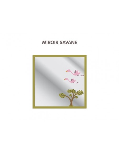 Expédition J+1,Miroir enfant: Savane
