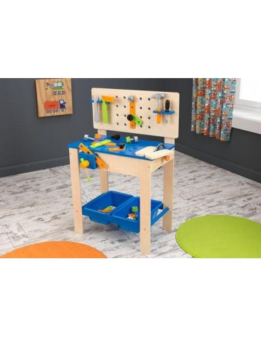 etabli en bois pour enfant. Black Bedroom Furniture Sets. Home Design Ideas