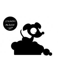 Sticker Ardoise,Sticker ardoise: Hector qui dort
