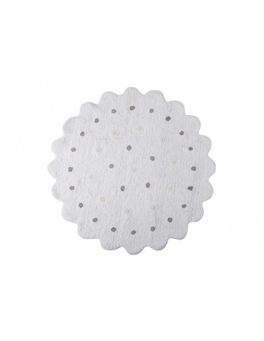 Tapis ronds,Tapis Enfant: Biscuit Rond