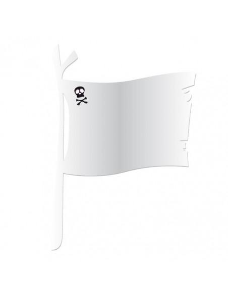 Expédition J+1,Miroir enfant: Drapeau Pirate