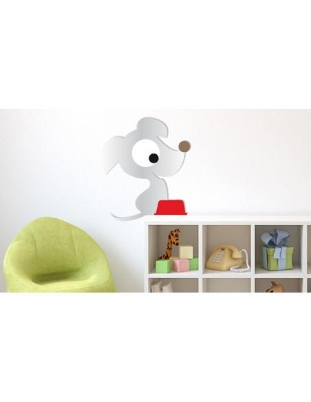 Expédition J+1,Miroir Enfant: Petit chien