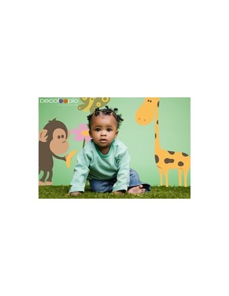 Stickers Frise,Stickers déco: Frise Gazelles de la Savane