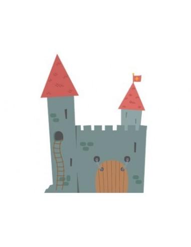 Stickers Chevalier,Stickers garçons: Château des Chevaliers