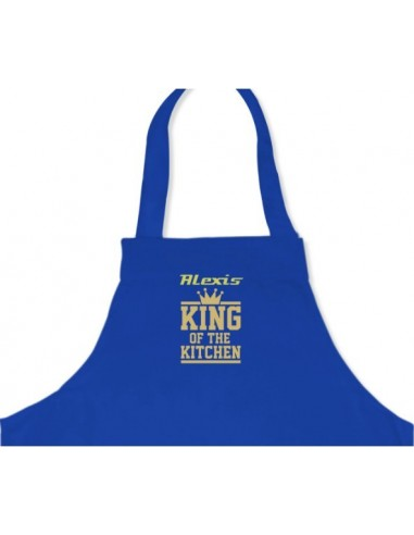 """Veste & Tablier personnalisé,Tablier """" King of the Kitchen"""""""