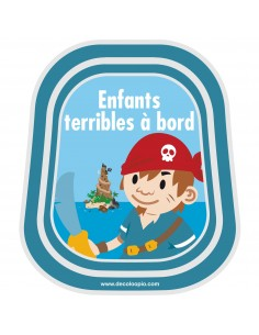 Stickers Bébé à Bord,Bébé à bord Enfants Terribles