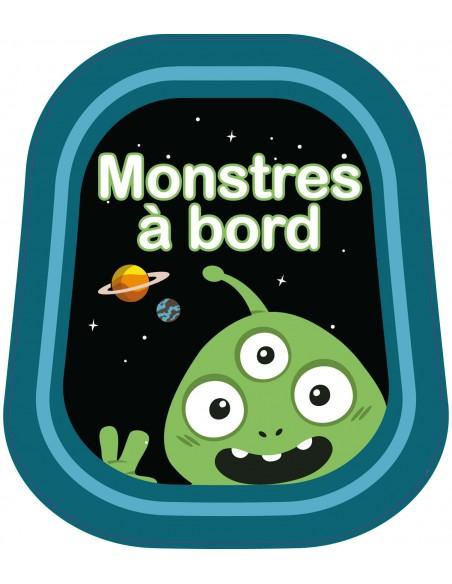 Stickers Bébé à Bord,Bébé à bord: Monstres