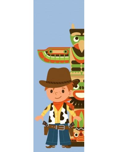 Tableaux Décoratifs,Tableau déco enfant: Cowboy
