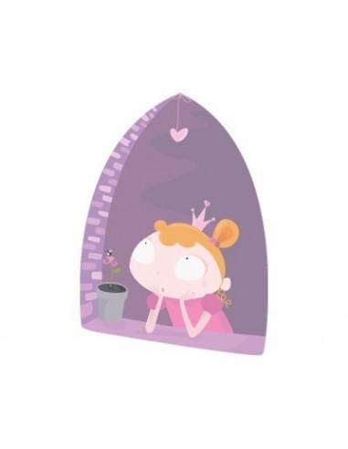 Stickers Fée & Princesse,Sticker muraux Fille: Princesse à la