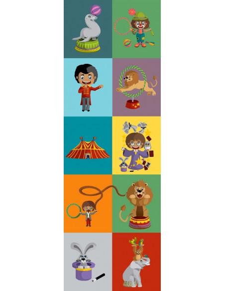 Tableaux Décoratifs,Tableau déco enfant: Cirque