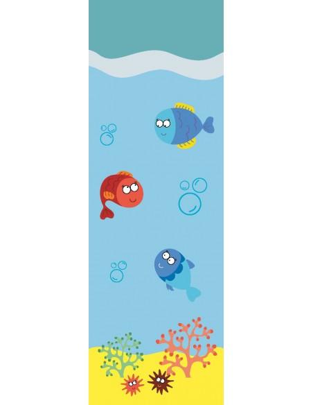Tableaux Décoratifs,Tableau déco enfant: Sous l'océan