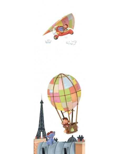 Tableaux Décoratifs,Tableau déco enfant: Paris