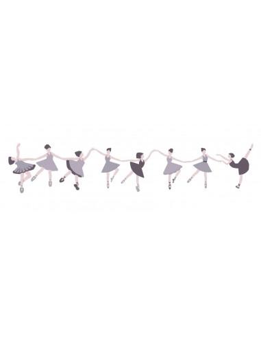 Tableaux Décoratifs,Tableau déco enfant: Danseuses