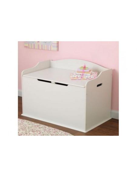 coffre jouets enfant blanc. Black Bedroom Furniture Sets. Home Design Ideas