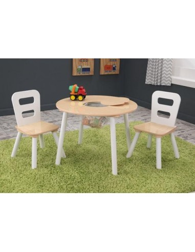 Tables- Chaises & Bureaux,Ensemble chaises et table ronde