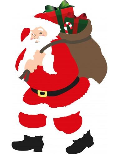 Stickers Noël,Sticker Père Noël