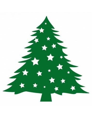 Stickers Noël,Déco Repositionnable: Sapin de Noël
