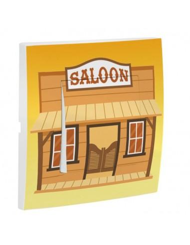 Interrupteur décoré,Interrupteur décoré: Saloon