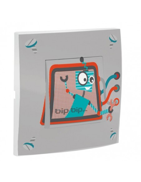 Interrupteur décoré,Interrupteur décoré: Robot