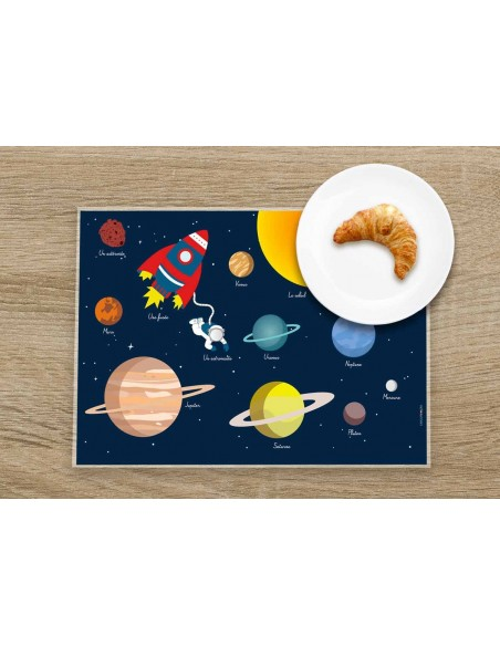 Set de table,Set De Table Enfant: Espace