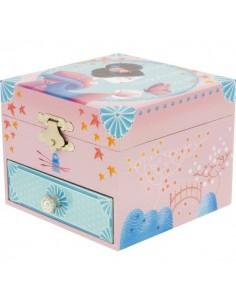 Boîte à Musique & Bijoux,Coffre musical Japonaise