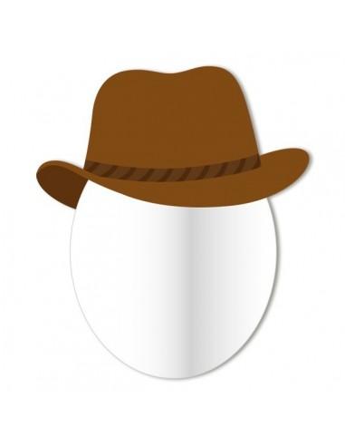 Miroir enfant,Miroir enfant: Tête cowboy