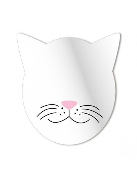 Miroir enfant,Miroir enfant: Tête de Chat