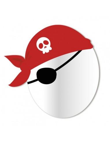 Miroir enfant,Miroir enfant: Tête Pirate