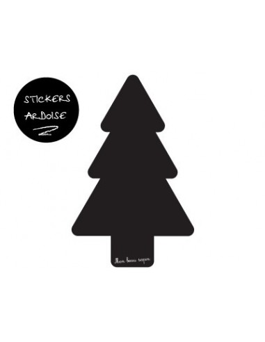 "Stickers Noël,Sticker ardoise ""Mon beau Sapin"""