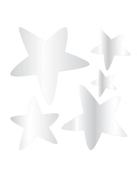 Miroir enfant,Kit 5 miroirs étoiles filantes